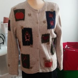 Womens croft & barrows cardigan sweater size small